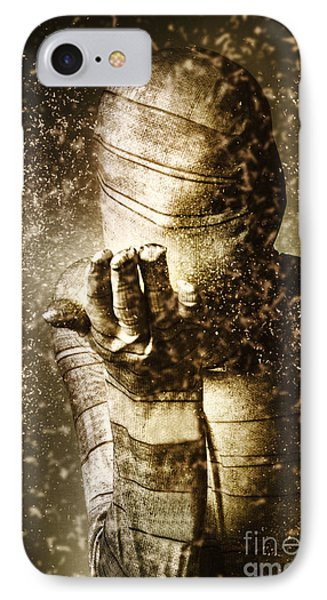 Boobies iPhone 7 Case - Curse Of The Mummy by Jorgo Photography - Wall Art Gallery