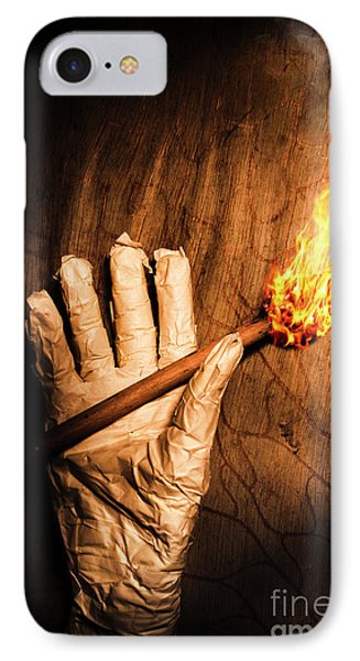 Curse Of The Tomb Robber IPhone Case