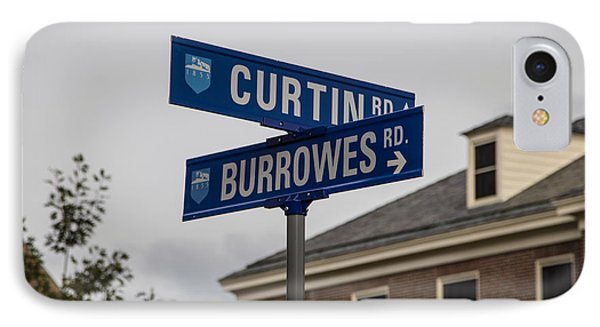 Curtin And Burrowes Penn State  IPhone Case by John McGraw