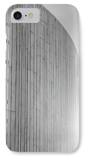 Curve Seven IPhone Case by Wim Lanclus