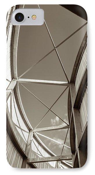 Curve Six IPhone Case by Wim Lanclus