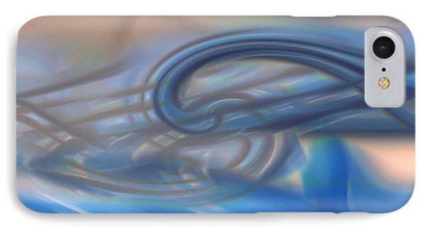Curved Lines Phone Case by Linda Sannuti