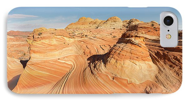 Curves Into Waves IPhone Case by Tim Grams