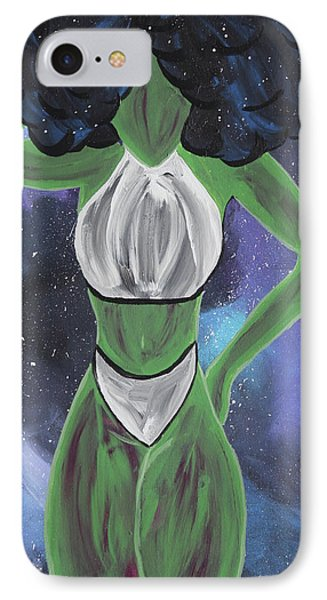 Curves Out Of This World IPhone 7 Case by Cyrionna The Cyerial Artist