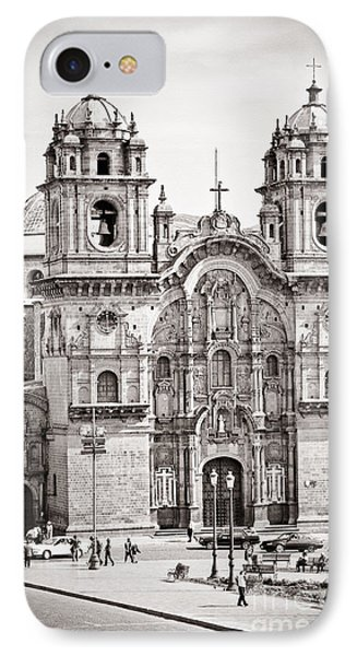 Cusco Cathedral Phone Case by Darcy Michaelchuk