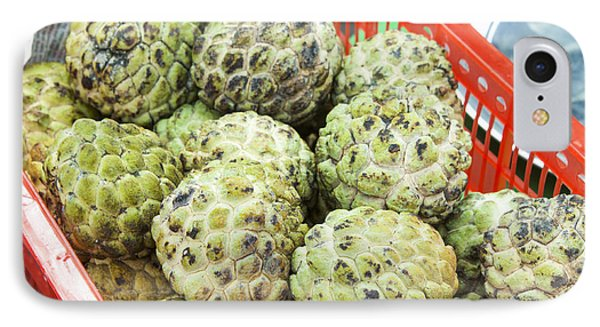 Custard Apples Annona Squamosa IPhone Case by D R