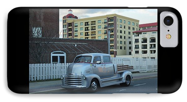 IPhone Case featuring the photograph Custom Chevy Asbury Park Nj by Terry DeLuco