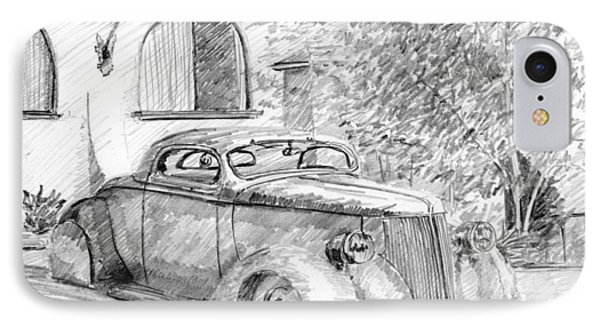Custom Ford Graphite IPhone Case by David King