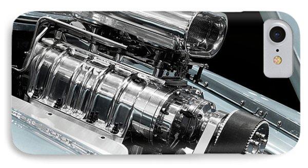 Custom Racing Car Engine Phone Case by Oleksiy Maksymenko