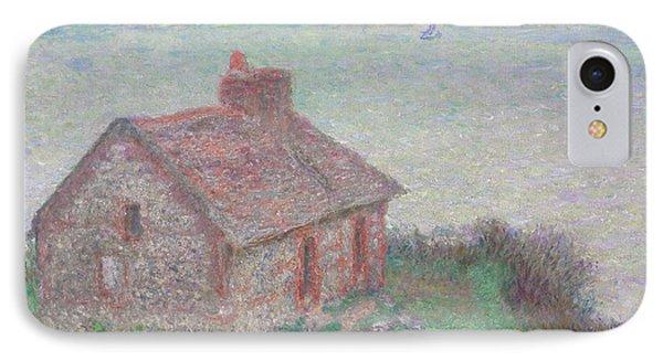 Customs House IPhone Case by Claude Monet