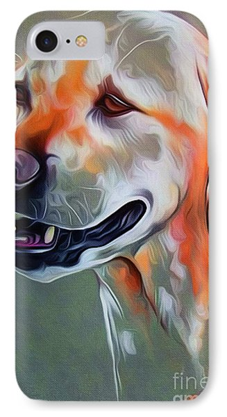 Cute Dog 01 IPhone Case by Gull G