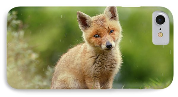 Cute Overload Series - Best Baby Fox Ever IPhone Case by Roeselien Raimond