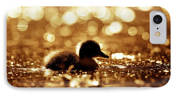Cute Overload Series - Duckling Reflections IPhone Case