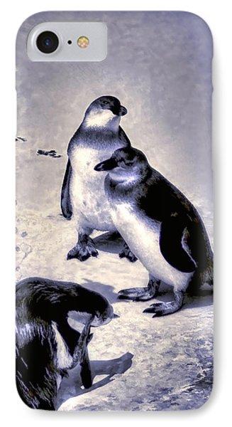 Cute Penguins IPhone Case