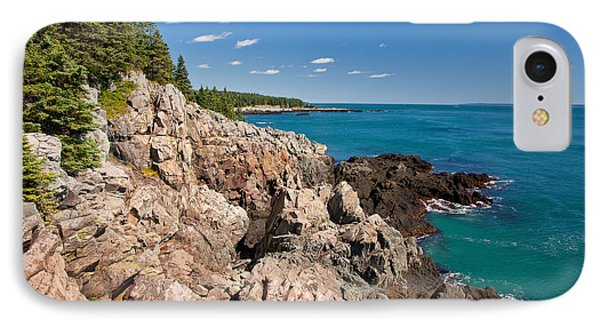 Cutler Cliffs 1 IPhone Case by Susan Cole Kelly