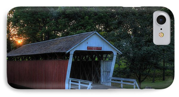 Cutler/ Donahoe Covered Bridge IPhone Case