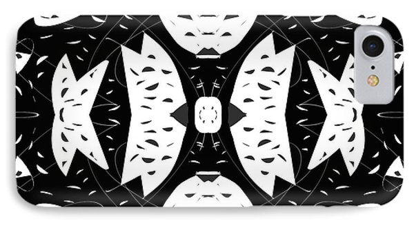 Cutouts Abstract Art IPhone Case