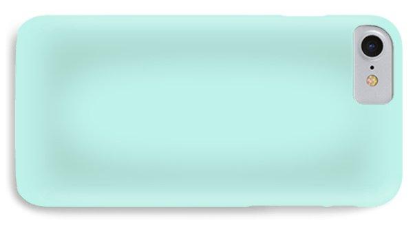 Cyan Ultra Soft Pastels Colour Palette IPhone Case