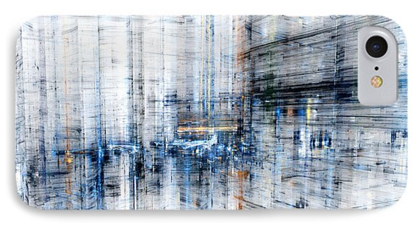 Cyber City IPhone Case by Martin Capek
