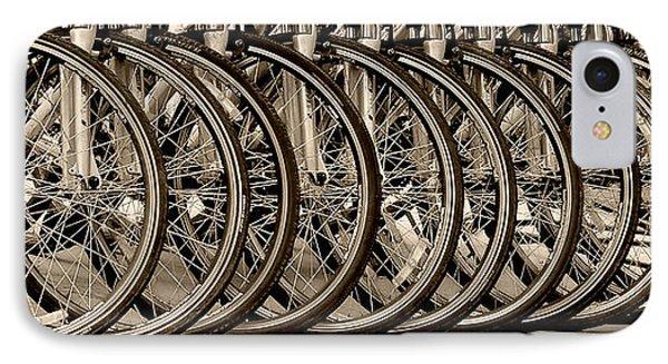 Cycles IPhone Case by Joe Bonita