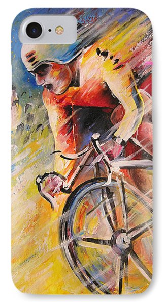 Cycling Phone Case by Miki De Goodaboom
