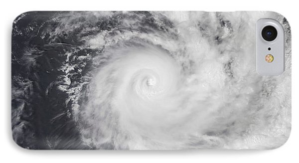Cyclone Zoe In The South Pacific Ocean Phone Case by Stocktrek Images