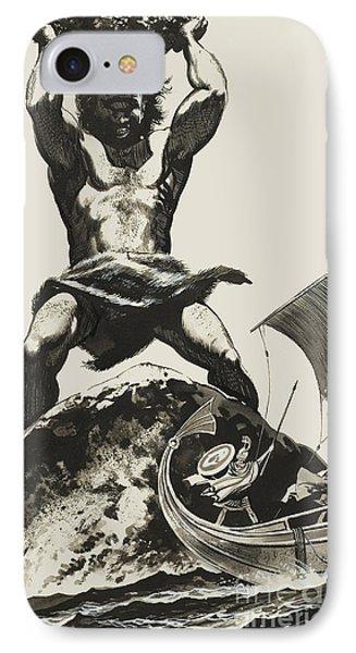 Cyclops IPhone 7 Case by Angus McBride