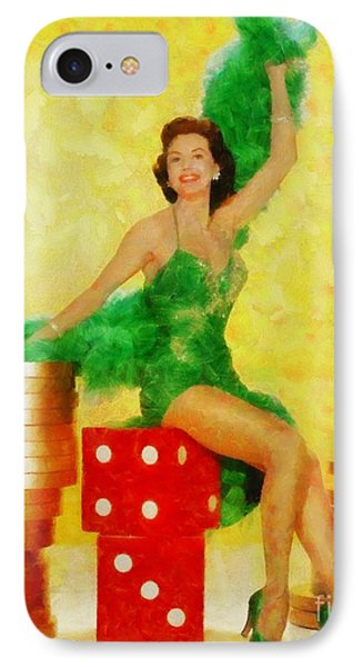 Cyd Charisse, Vintage Hollywood Legend IPhone Case