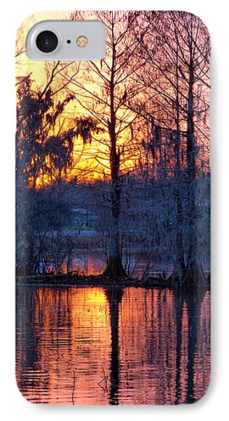 Cypress Sunrise IPhone Case by Kimo Fernandez