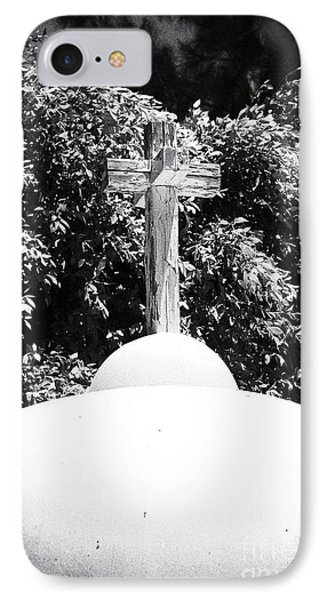 Cypriotic Crucifix IPhone Case by John Rizzuto