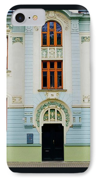 Czech Facades IPhone Case by Louise Fahy