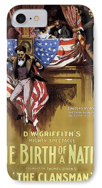 D W Griffith's Birth Of A Nation 1915 IPhone Case