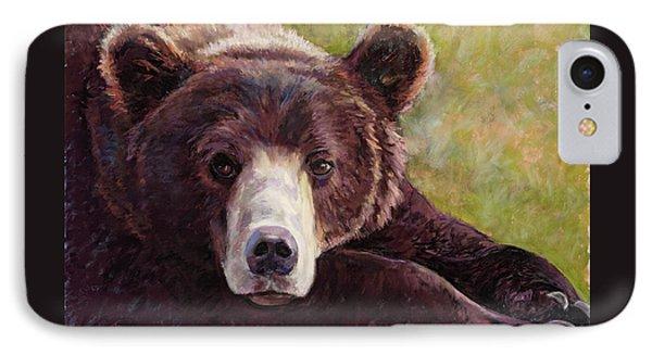 Da Bear IPhone Case by Billie Colson