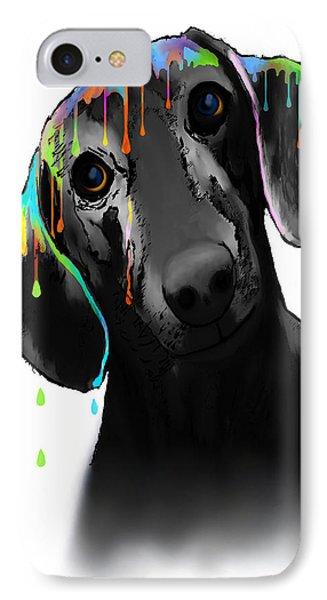 Dachshund IPhone Case by Marlene Watson