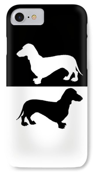 Dachshunds IPhone Case by Mordax Furittus