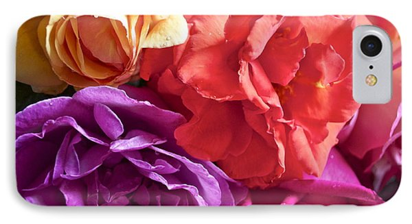Dad's Roses Phone Case by Gwyn Newcombe