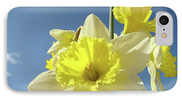 Daffodil Flowers Artwork Floral Photography Spring Flower Art Prints Phone Case by Baslee Troutman
