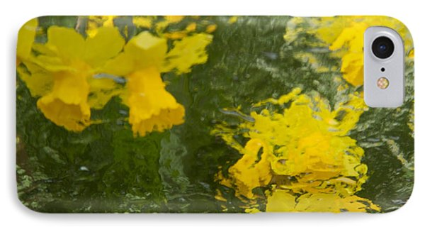 Daffodil Impressions IPhone Case by Jeanette French