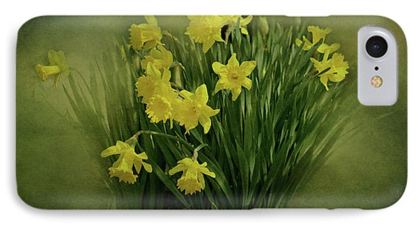 Daffodils Phone Case by Sandy Keeton