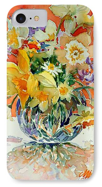 Daffs And Daisies IPhone Case