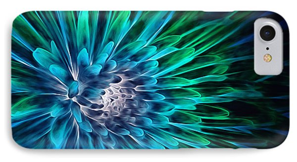Dahlia Abstract Vibrance IPhone Case