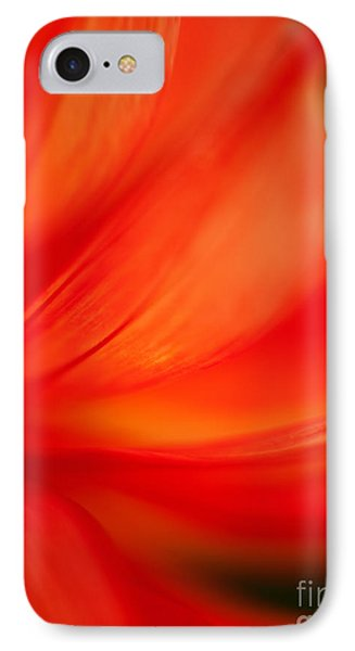 Dahlia On Fire IPhone Case by Mike Reid