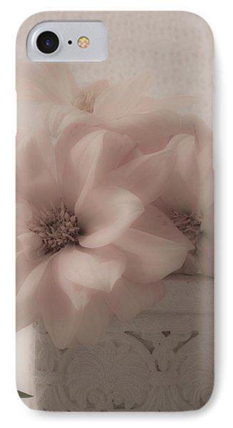 Dahlias Oh So Soft IPhone Case by Sandra Foster