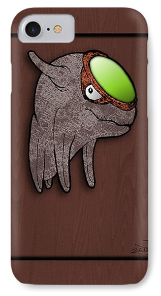 Daiki The Great Radiance IPhone Case by Uncle J's Monsters