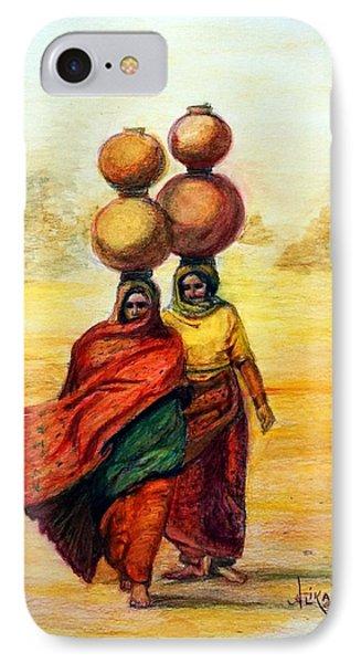 Daily Desert Dance IPhone Case by Alika Kumar