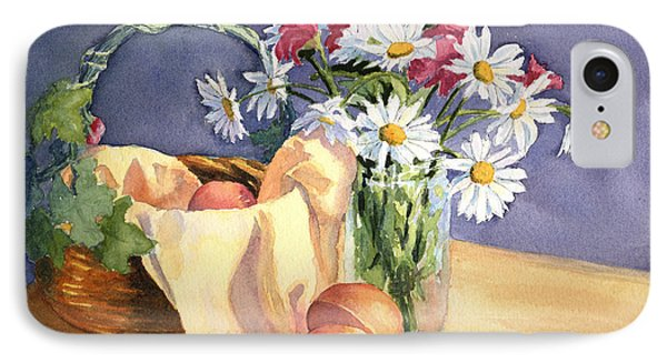 Daisies And Peaches IPhone Case