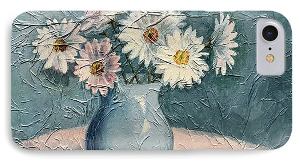 Daisies IPhone Case by Janet King