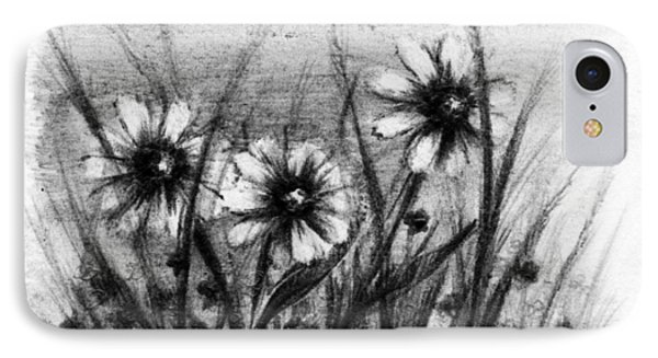 Daisies Phone Case by Rachel Christine Nowicki