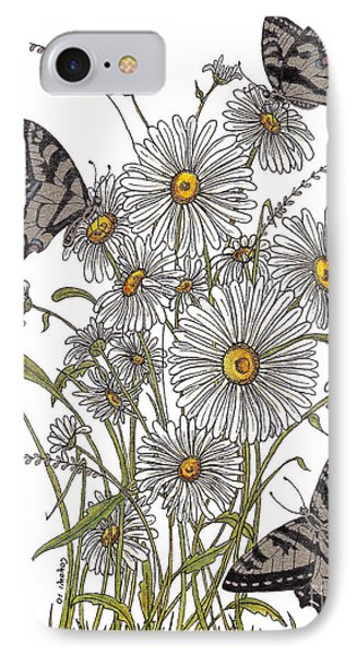 IPhone Case featuring the painting Daisy At Your Feet by Stanza Widen