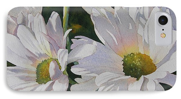 Daisy Bunch IPhone Case by Judy Mercer